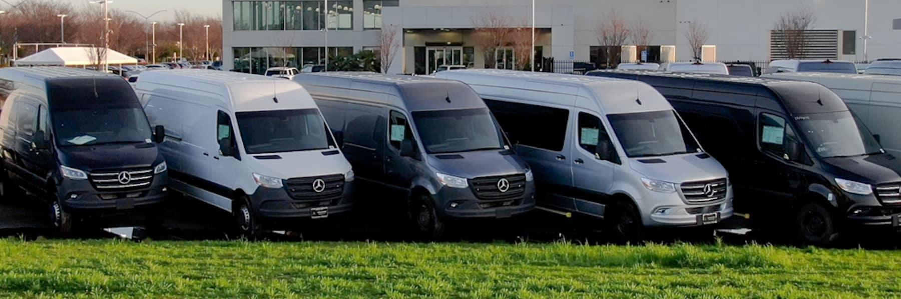 vans with grass