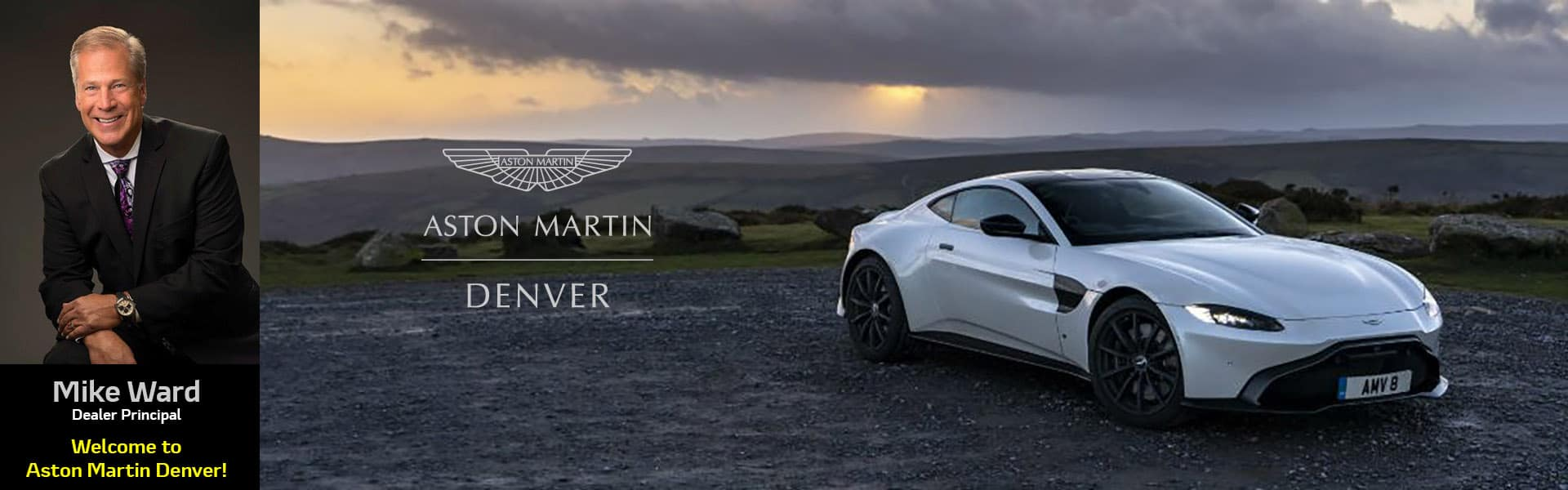 Welcome to Aston Martin Denver
