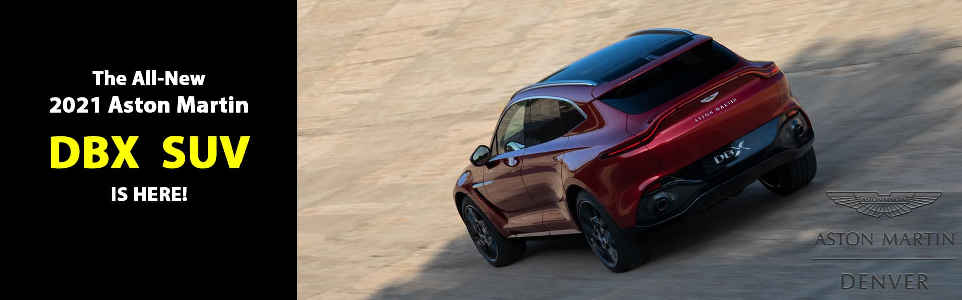 2021 Aston Martin DBX is for sale in Denver, Colorado