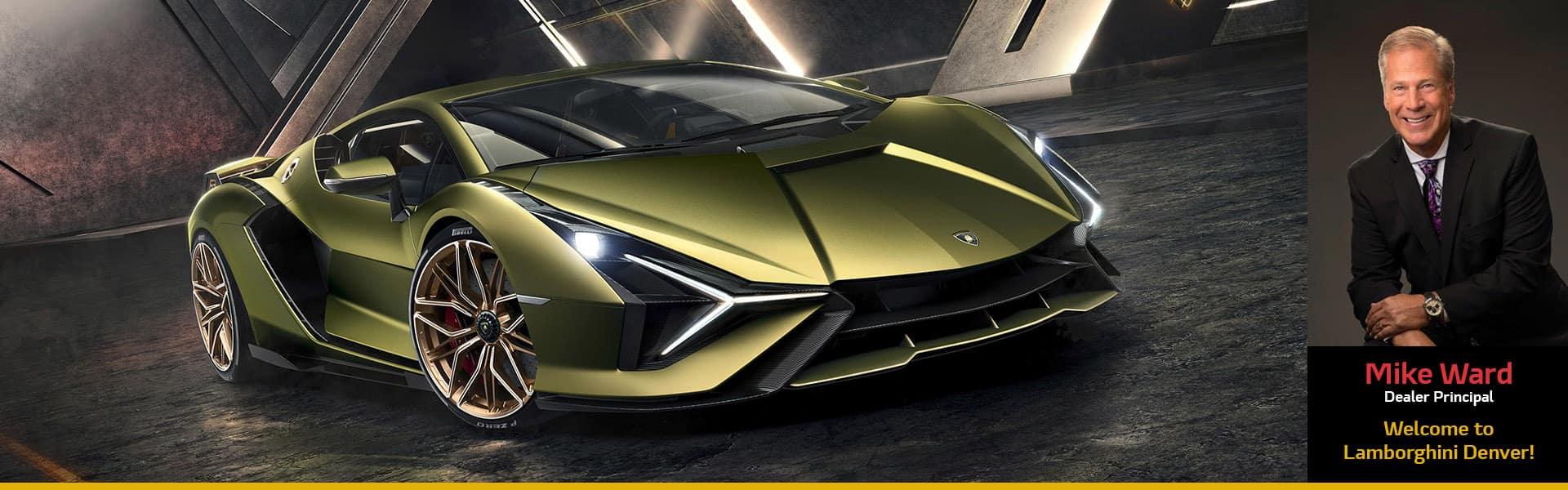 Welcome to Lamborghini Denver!