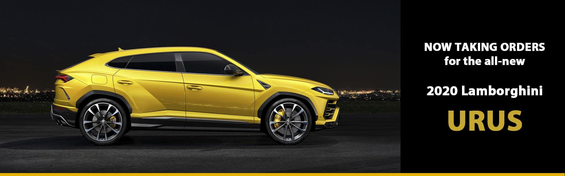Order Your 2020 Lamborghini Urus SUV Today!