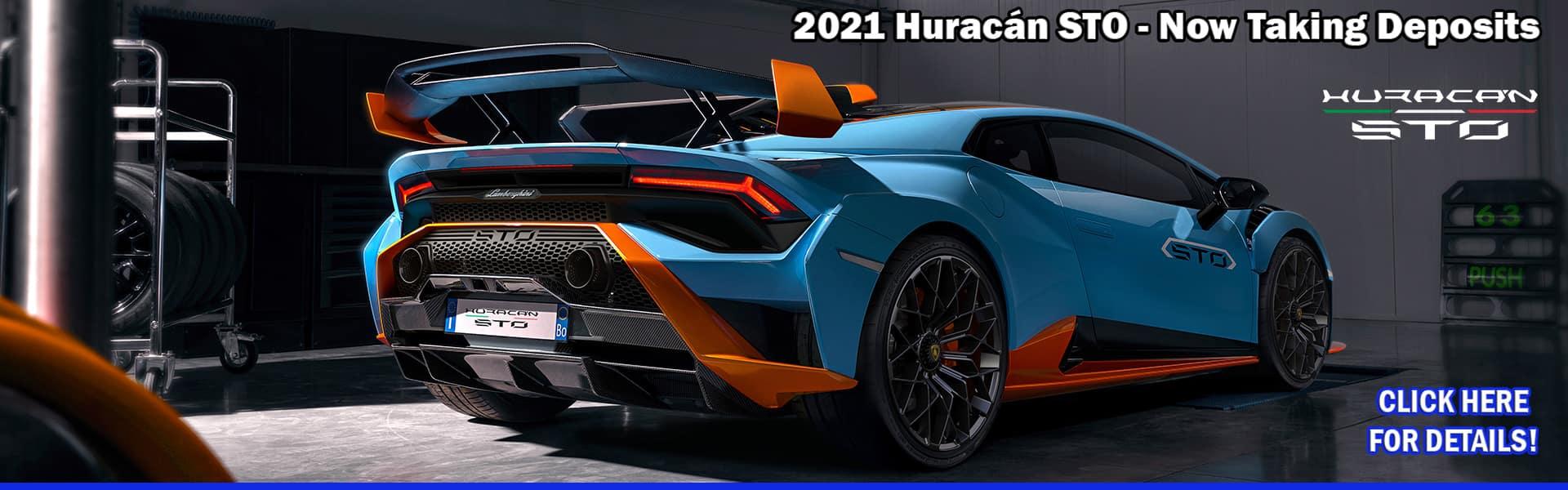 2021 Lamborghini Huracan STO in Colorado