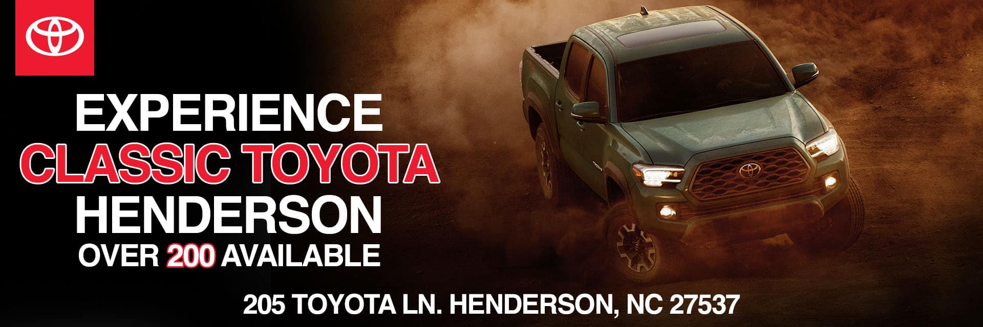 Now Open SliderExperience Classic Toyota Henderson