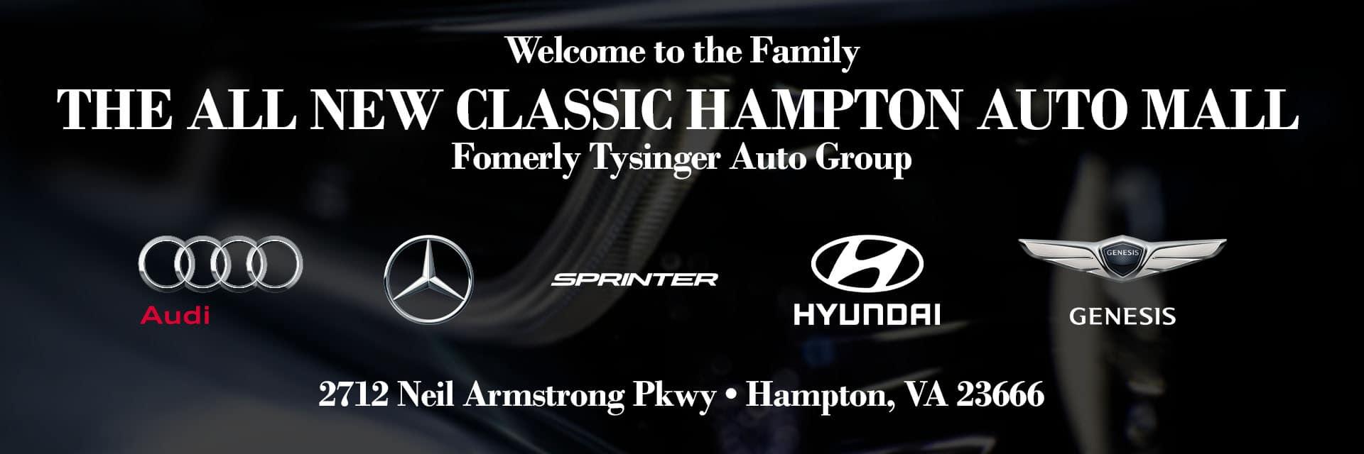 Classic Hampton Auto Mall GraphicsArtboard 5