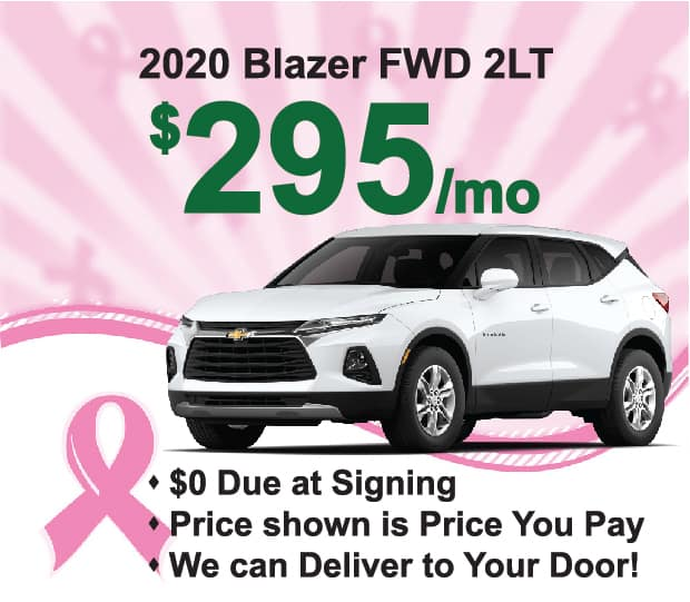 Blazer Lease Sept 2020