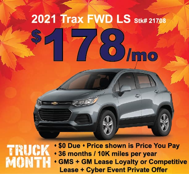 Trax Lease Special