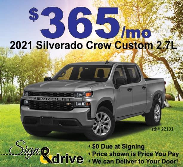Silverado April Lease Specials Near Me