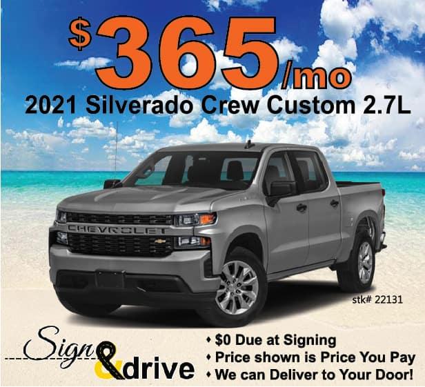 Silverado Lease Special May 2021