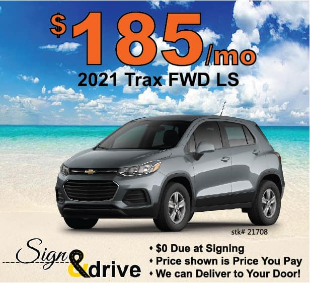 Trax Lease Special May 2021