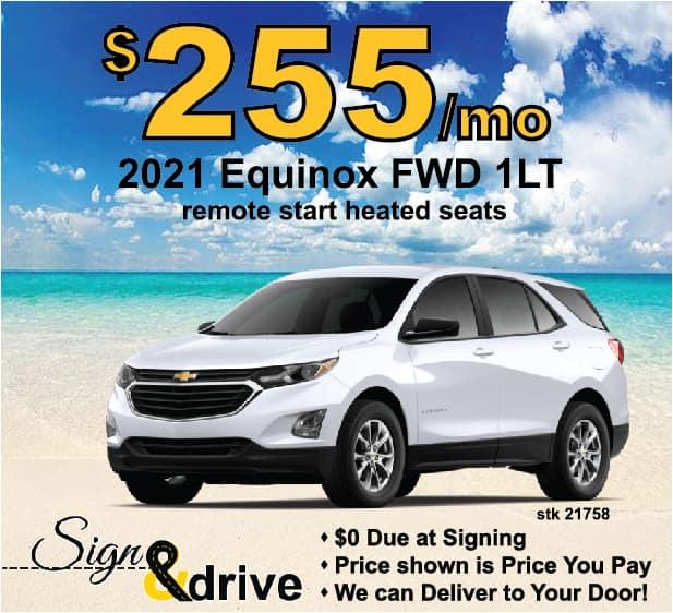 Equinox June Lease Specials Michigan
