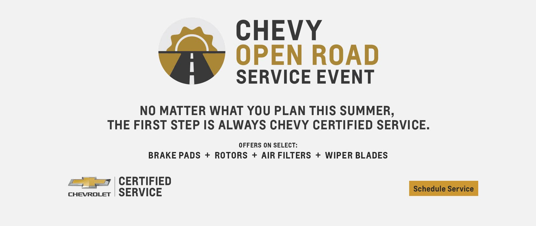 Chevy Open roads Service Event