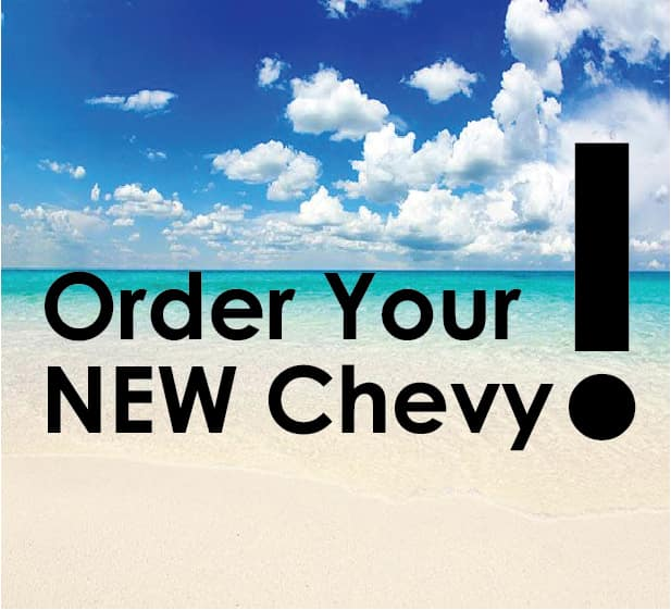 Order NEW Chevy