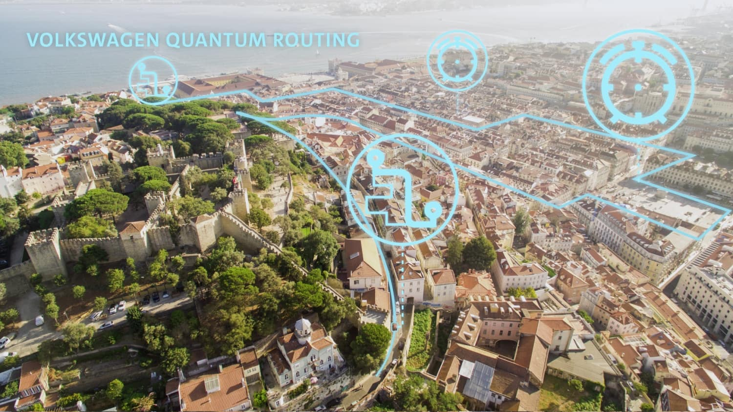 In Lisbon, Volkswagen is launching the world's first pilot project for traffic optimization with a quantum computer.