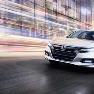 2020 Honda Accord Headlights On
