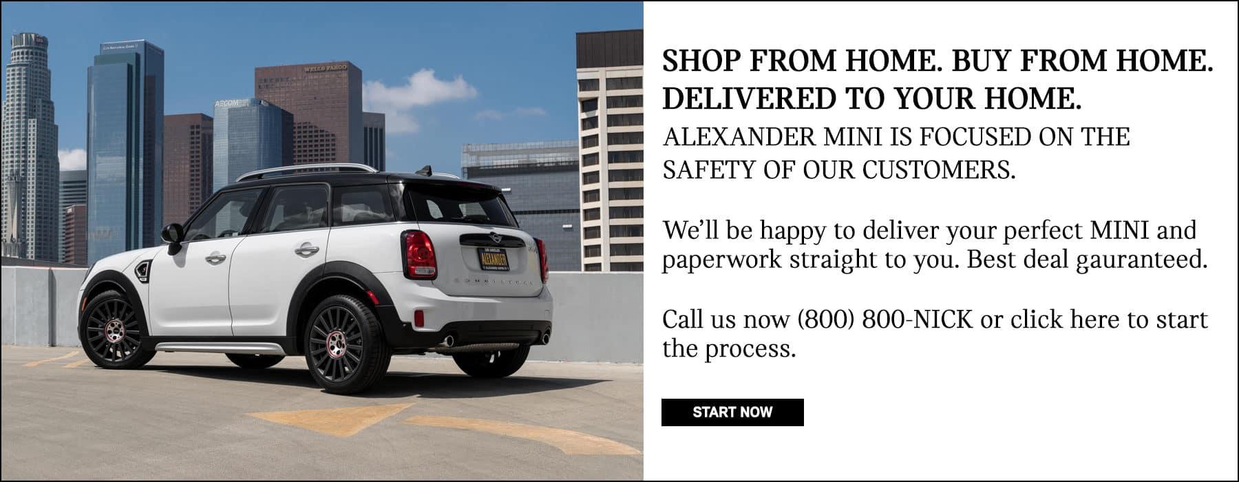 California's #1 Number One MINI Dealership. Best MINI Cooper Deal.