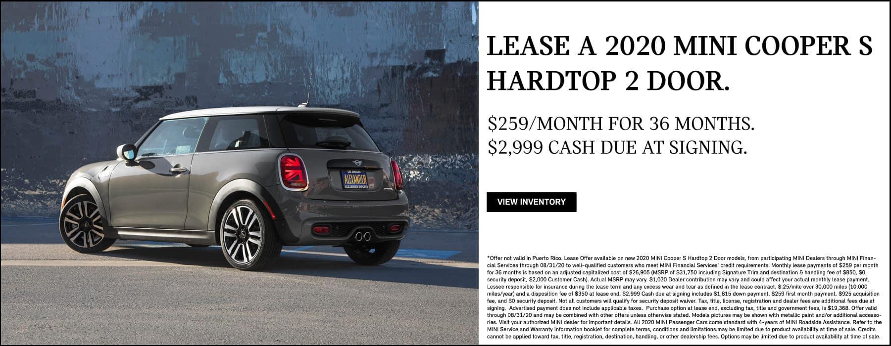 MINI Cooper S Hardtop Countryman Convertible Sale Deal Los Angeles California Valencia Valley Camarillo Steve Thomas Universal Southern LA CALI Lease Price Discount Special