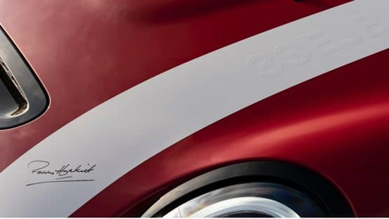 Paddy Hopkirk Edition Hood Racing Stripe with Signature
