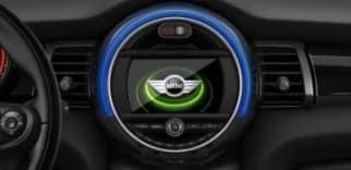 MINI Connected iDrive screen