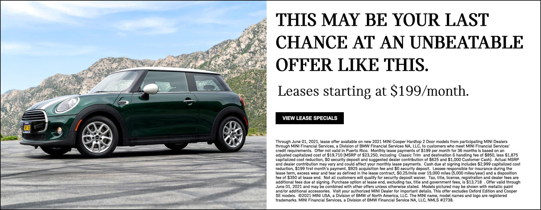 Lease Specials May 2021