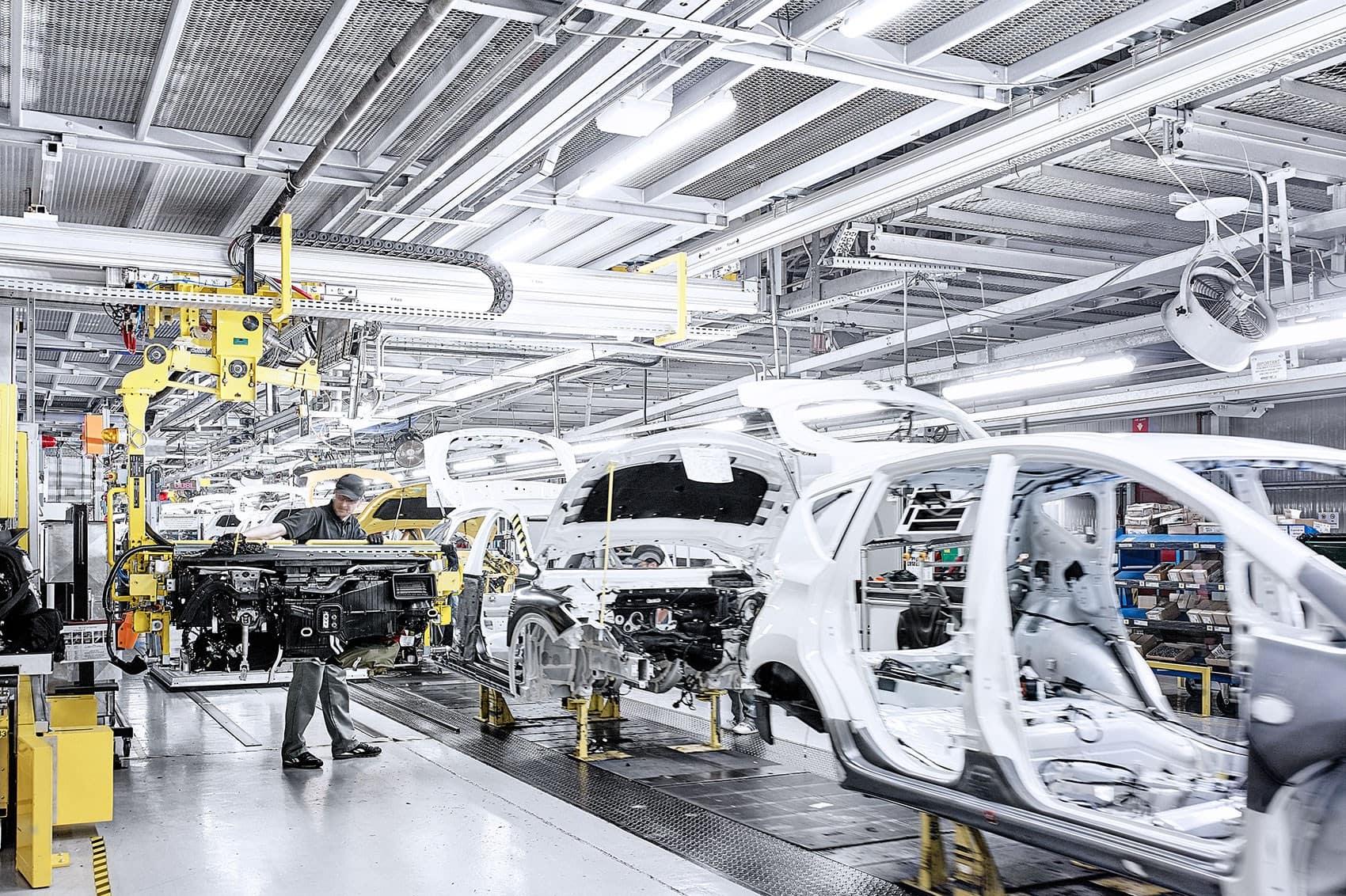 Nissan EV Battery Factory UK