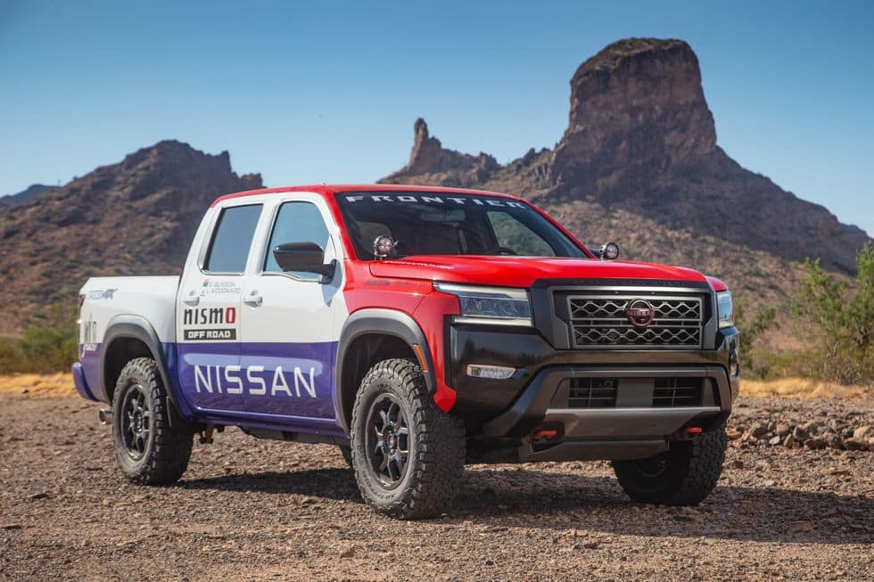 2022 Nissan Frontier PRO 4X Rally