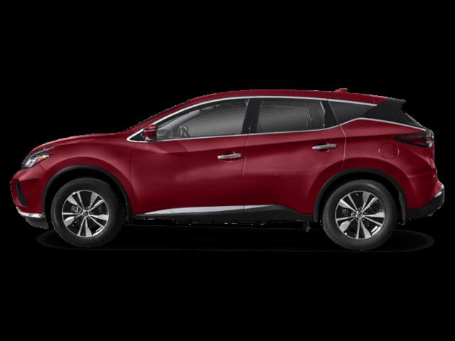2020 Nissan Murano side profile comparison thumbnail
