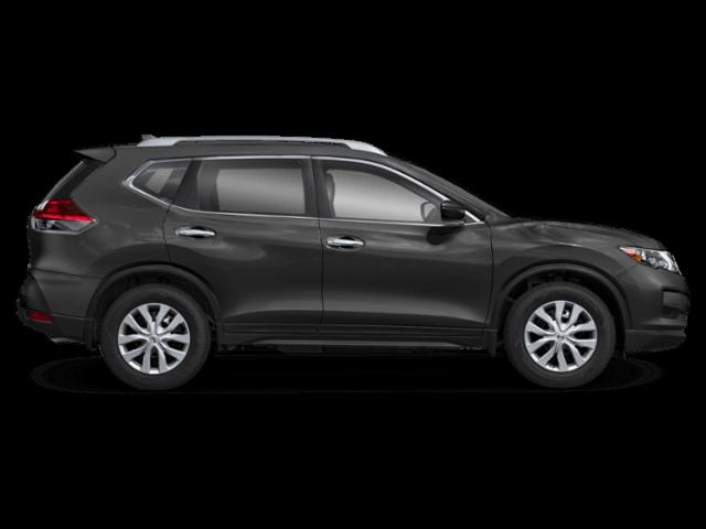 2020 Nissan Rogue side profile comparison thumbnail