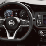 2020 Nissan kicks interior dashboard