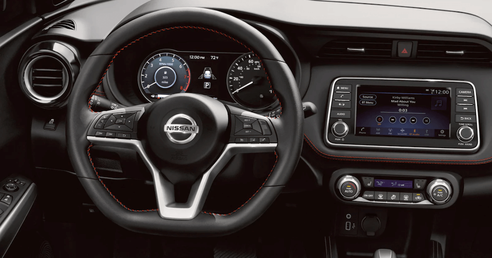 2020 Nissan kicks interior dashboard