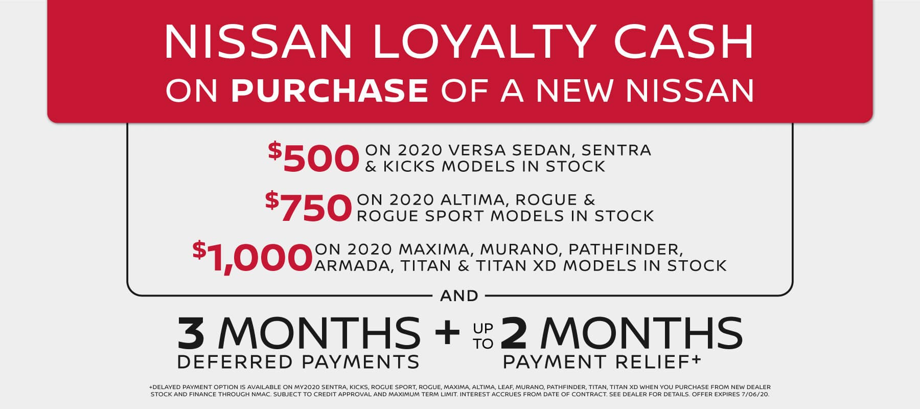 Nissan Purchase Cash