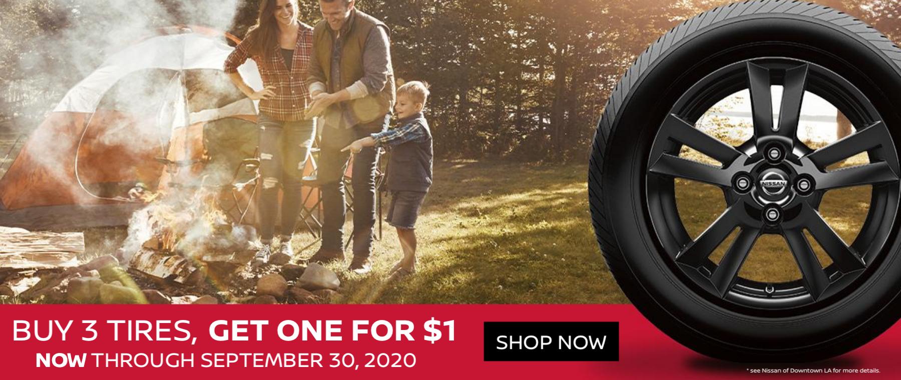 August / Sept Tire Special - BOGO $1