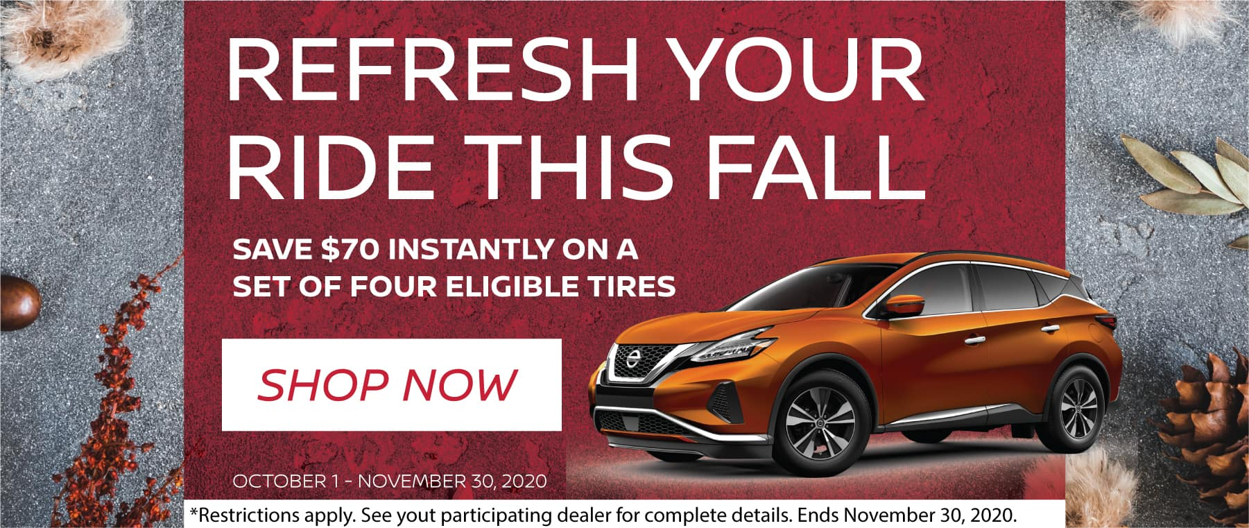 Refresh Your Ride This Fall