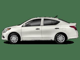 white versa sedan