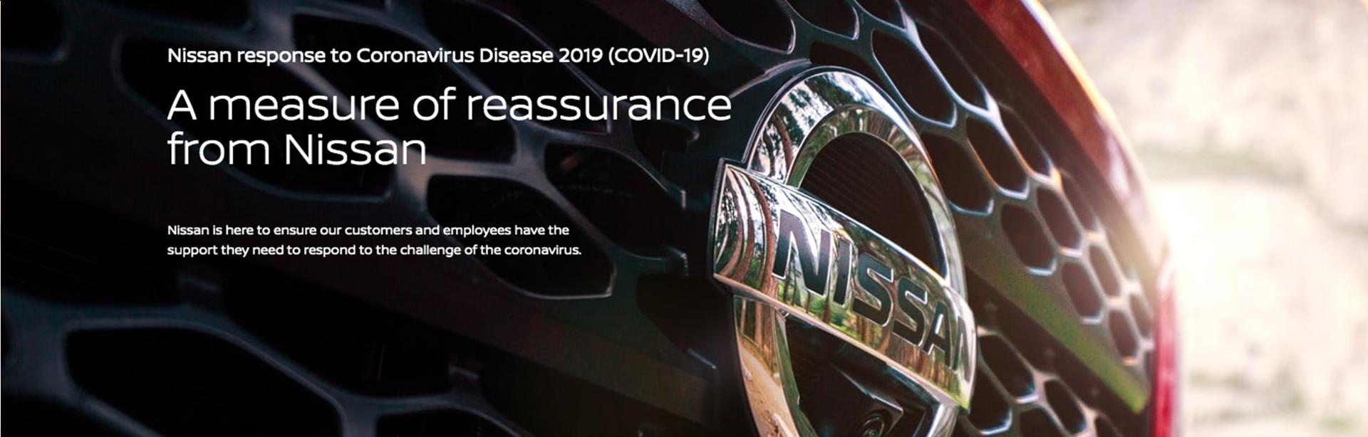 Nissan USA COVID-19 Response-Nissan-of-Lumberton-response-to-Coronavirus-Disease
