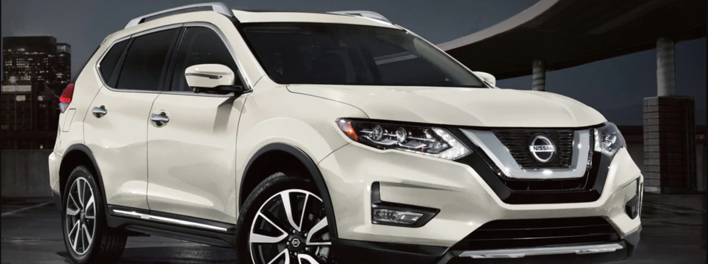 2020 white nissan rogue