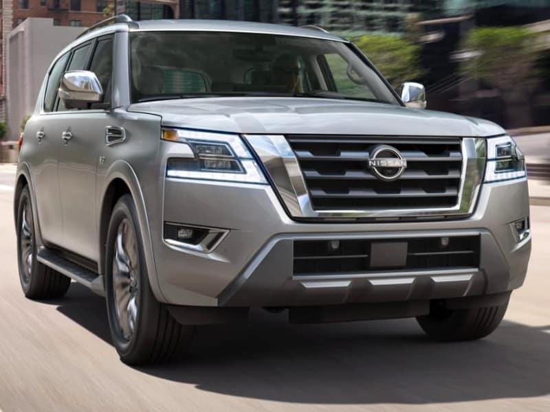Drive the amazing 2021 Nissan Armada in Lumberton NC