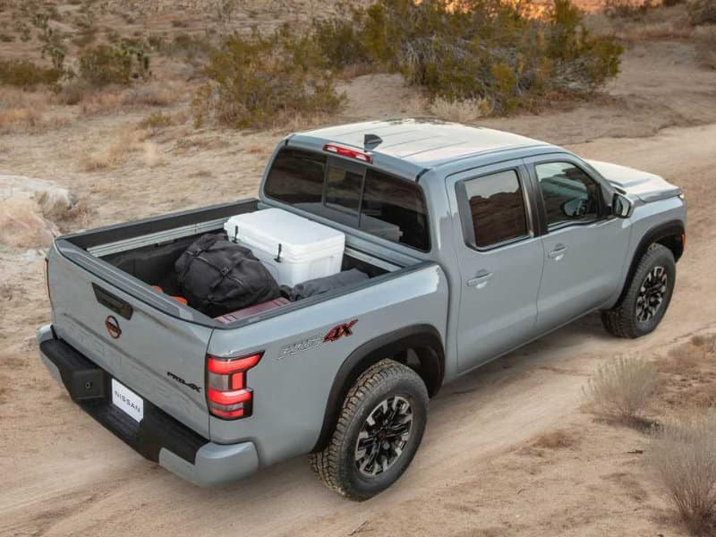 A 2022 Nissan Frontier can handle towing near Fayetteville NC