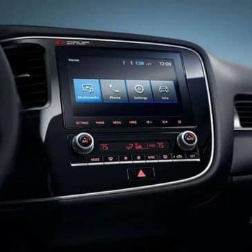2020 Mitsubishi Outlander Dash