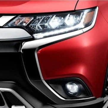 2020 Mitsubishi Outlander Headlight