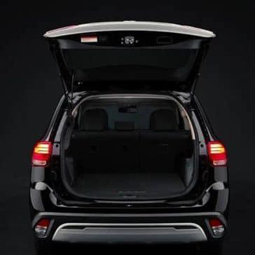 2020 Mitsubishi Outlander Open Trunk