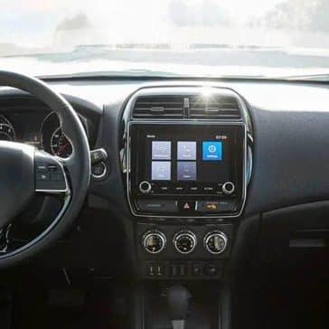 2020 Mitsubishi Outlander Sport Dash