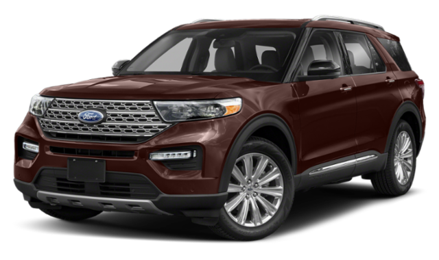 Brown 2020 Ford Explorer