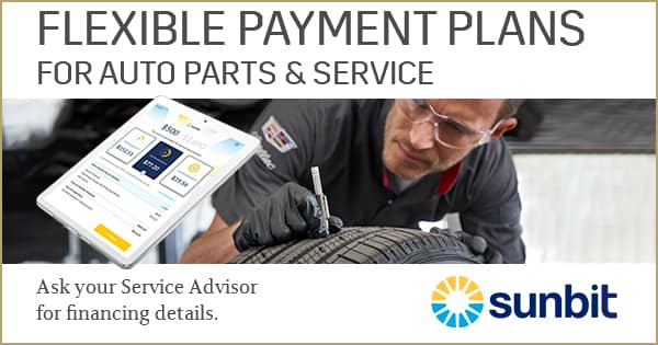 Flexible Payment Options for Auto Parts & Service. Powered by Sunbit.