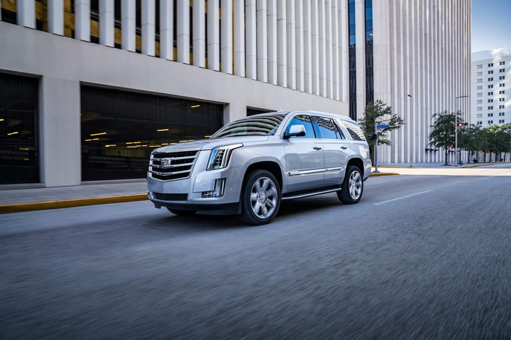All 2020 Cadillac Escalade models in stock