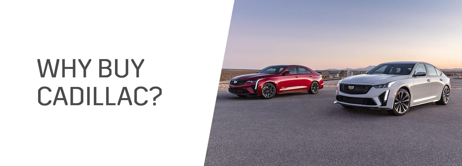 Why should you buy a Cadillac in Schaumburg IL?
