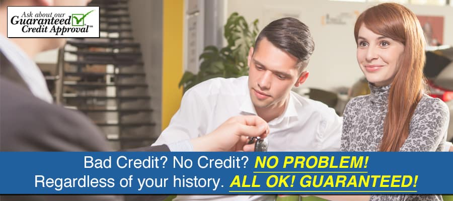 Guaranteed Credit Approval for Chevy Car Loans