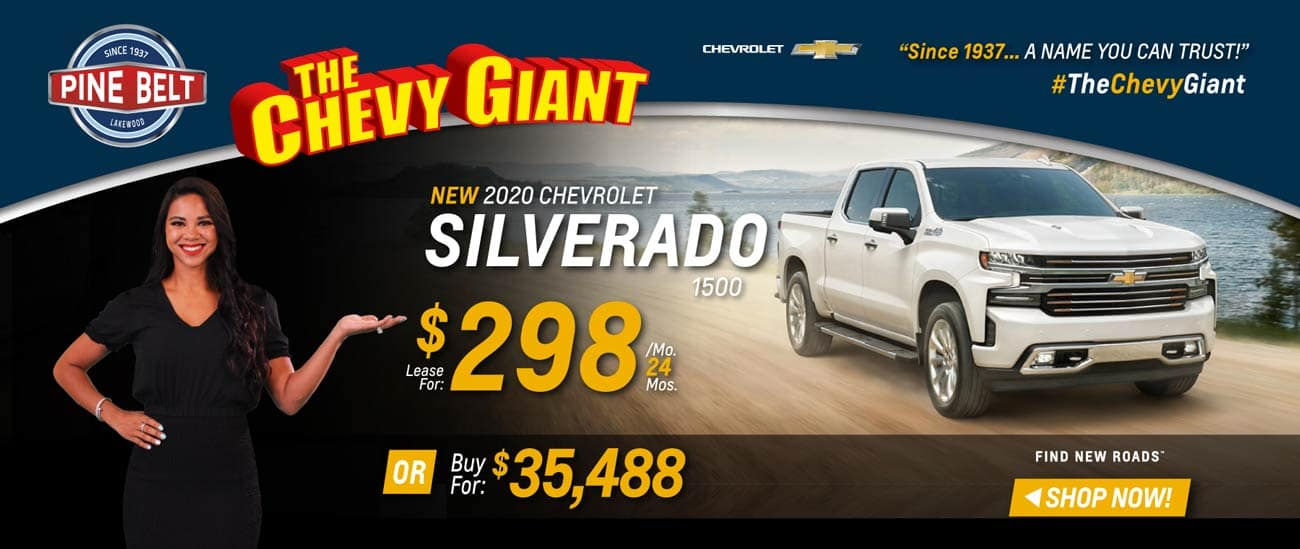 2020 Chevy Silverado Lease, Purchase or Finance Deals