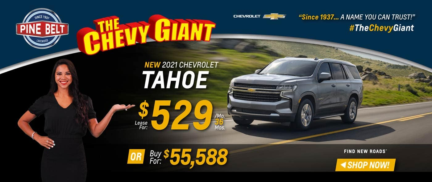 2020 Chevy Tahoe Lease, Purchase or Finance Deals