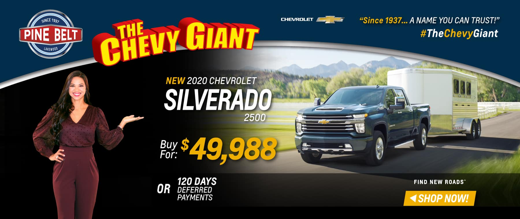 2020 Chevy Traverse Lease, Purchase or Finance Deals