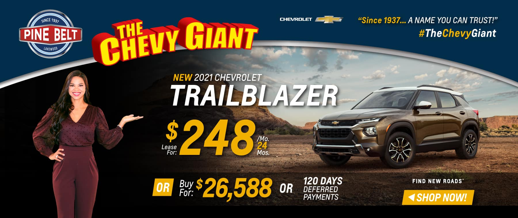 2021 Chevy Traverse Lease, Purchase or Finance Deals